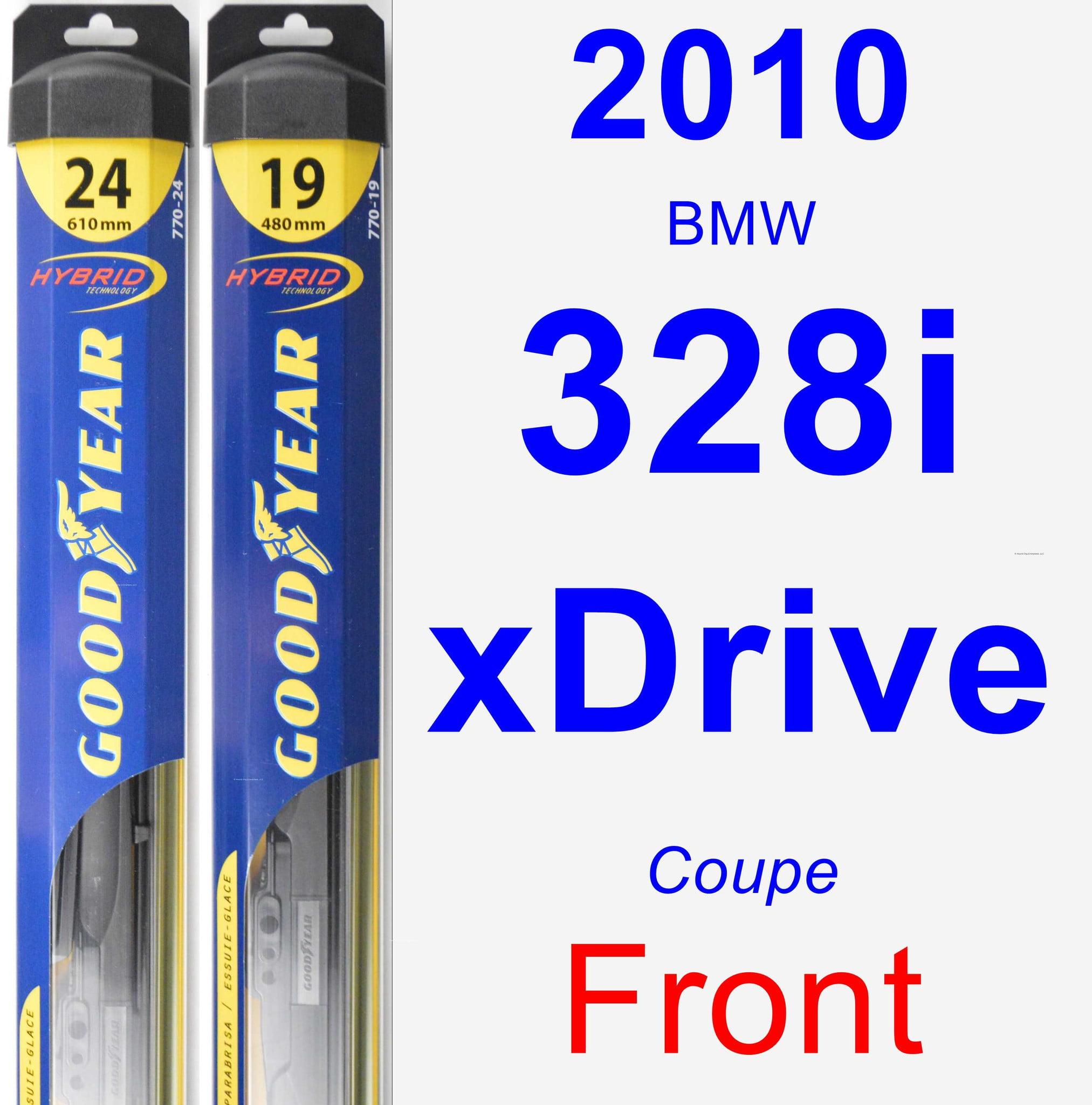 2010 BMW 328i xDrive Passenger Wiper Blade - Hybrid