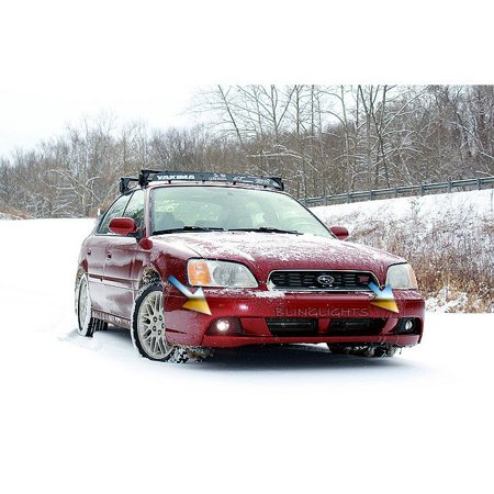 1999 2000 2001 2002 2003 Subaru Legacy Xenon Foglamps Foglights Driving Fog Lamps Be Bh Lights Kit
