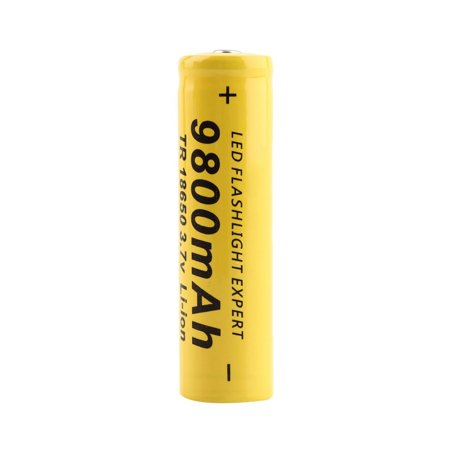 3.7V 18650 9800mah Li-ion Rechargeable Battery For LED Flashlight Torch/electronic gadgets 65x17mm - image 2 de 5