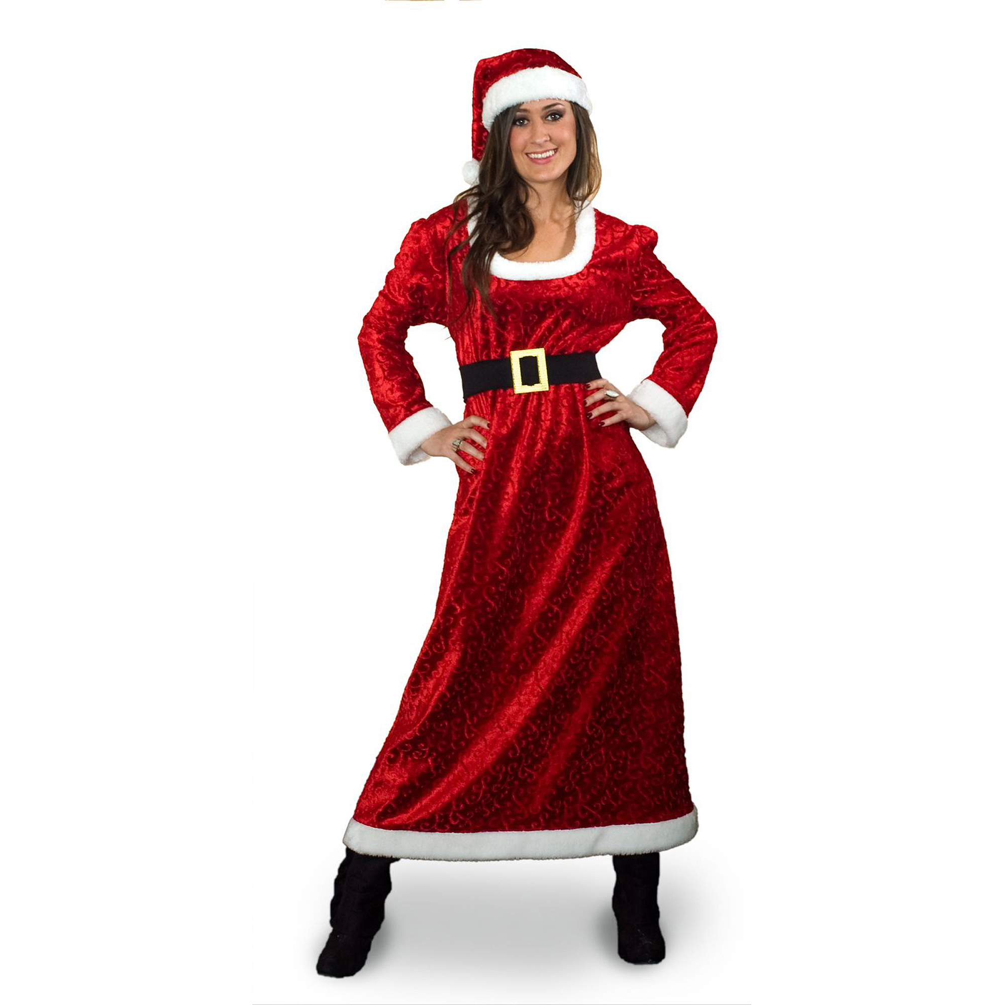 Sunnywood Charming Ms. Santa Costume