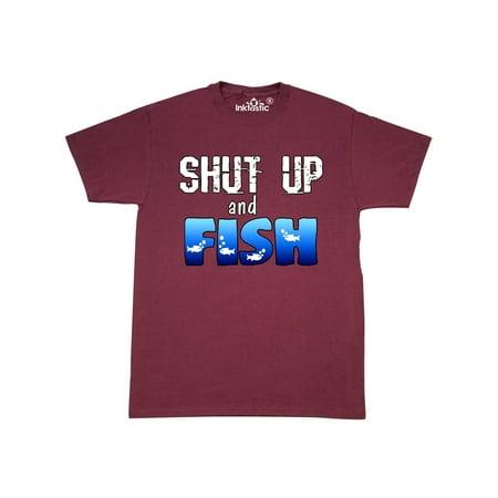 Shut Up and Fish T-Shirt (Jens Voigt Shut Up Legs T Shirt)