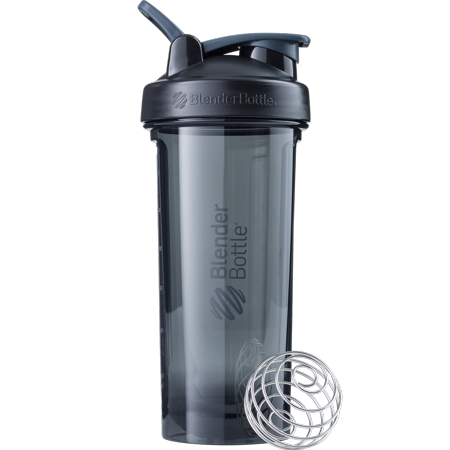Sundesa LLC 28 Ounce BlenderBottle Pro Shaker Bottle with Black Blender Ball (Thrive Blender Bottle)