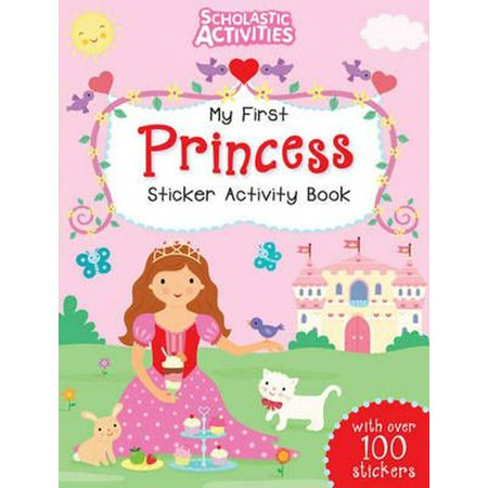 My First Princess Sticker Activity Book (Scholastic Activities) (Paperback) ()