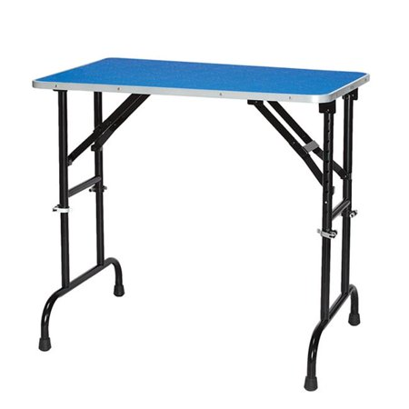 Master Equipment TP988 36 79 ME Adj Height Grooming Table 36x24 In Purple Q - image 1 of 1