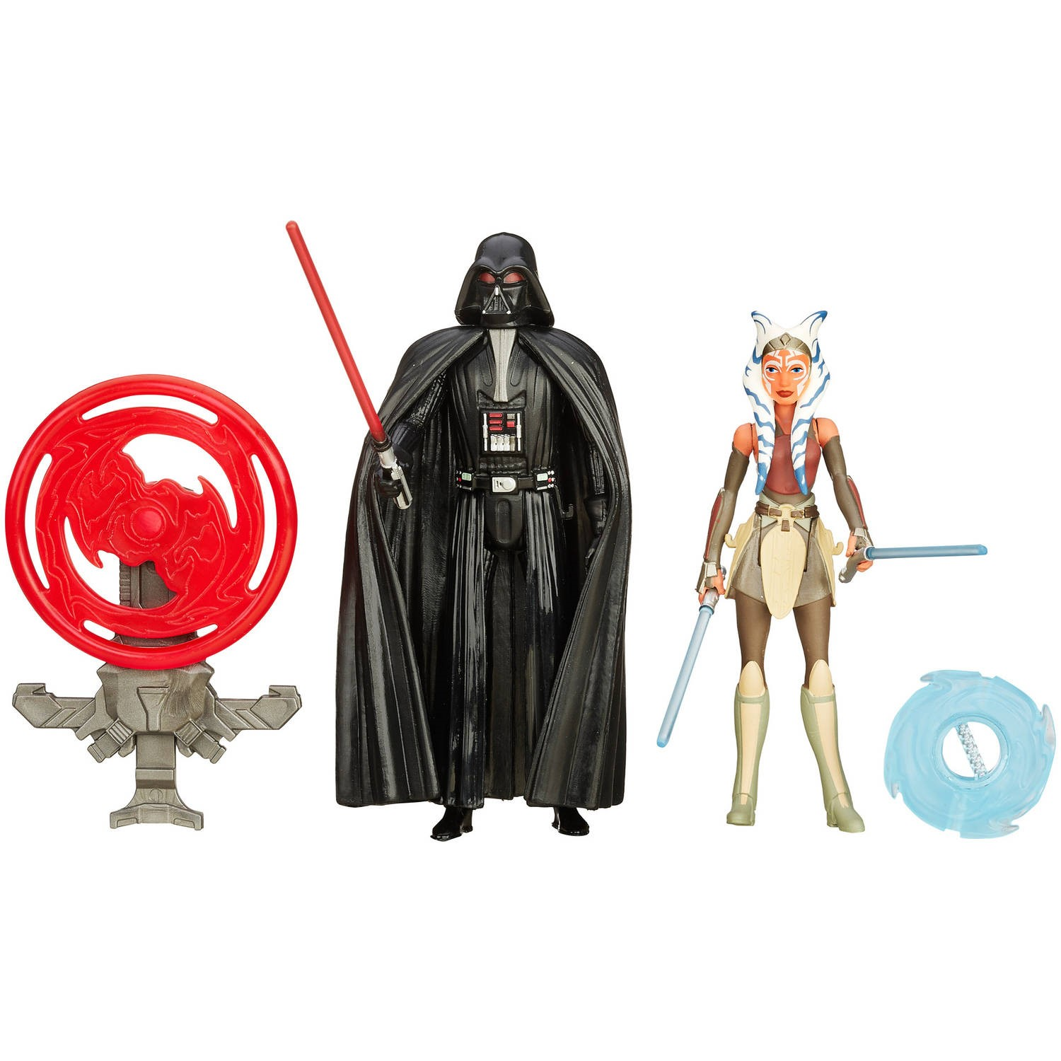 "Star Wars Rebels 3.75"" Figure 2-Pack Space Mission Darth Vader and Ahsoka Tano"