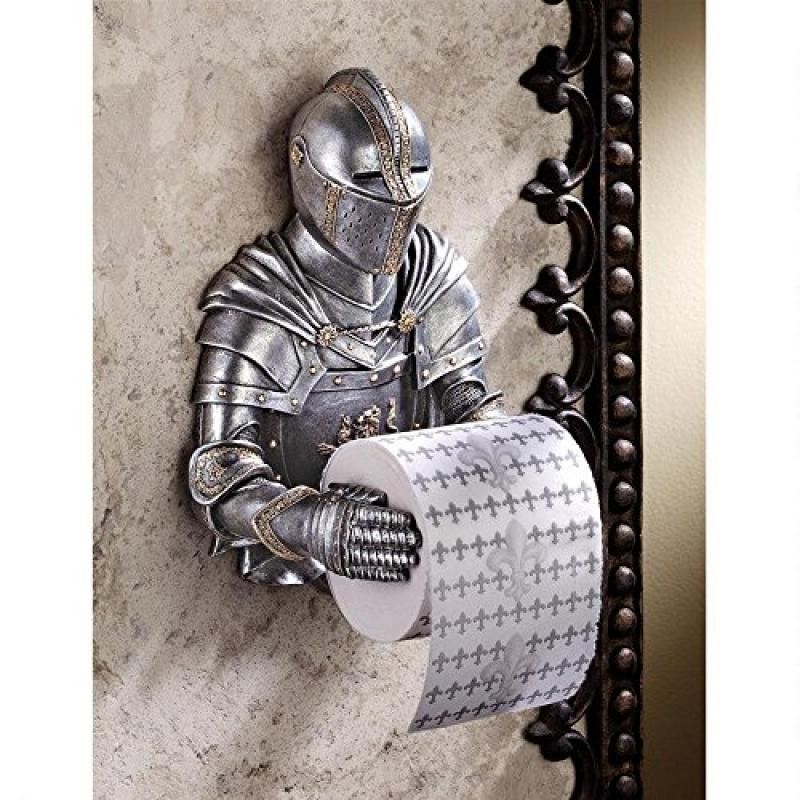 Design Toscano A Knight to Remember Gothic Bath Tissue Ho...