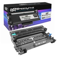 SpeedyInks - 2PK Compatible Brother Set TN750 Toner DR720 Drum Unit, for use in Brother DCP-8110DN, DCP-8150DN, DCP-8155DN, HL-6180DWT, MFC-8510DN, MFC-8710, DW MFC-8910DW, MFC-8950DW, MFC-8950DWT