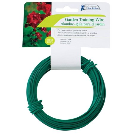 Gardeners Blue Ribbo T025A Heavy Duty Garden Training Wire, (Heavy Duty Garden Wire)
