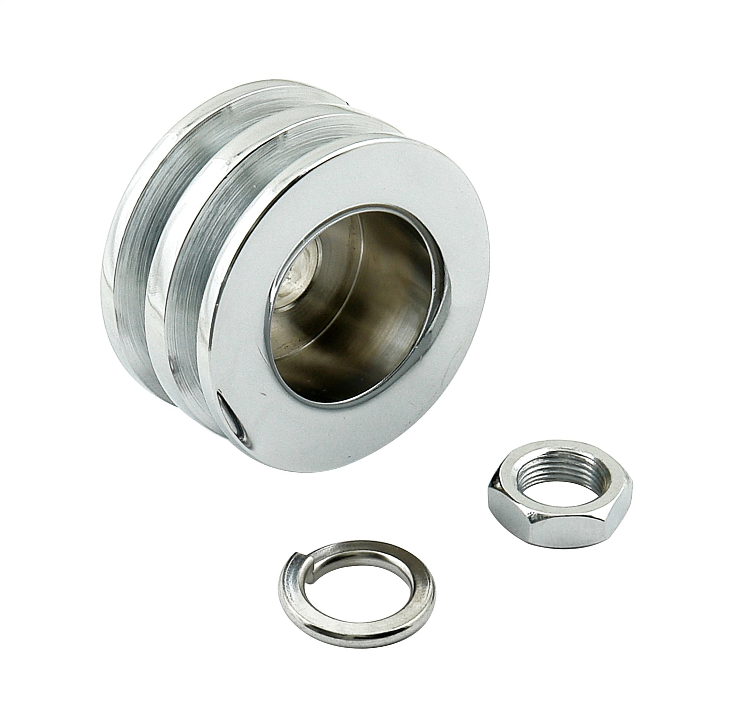 Mr. Gasket Co. 6809 MRG6809 CHROME GM DBL ALT PULLEY