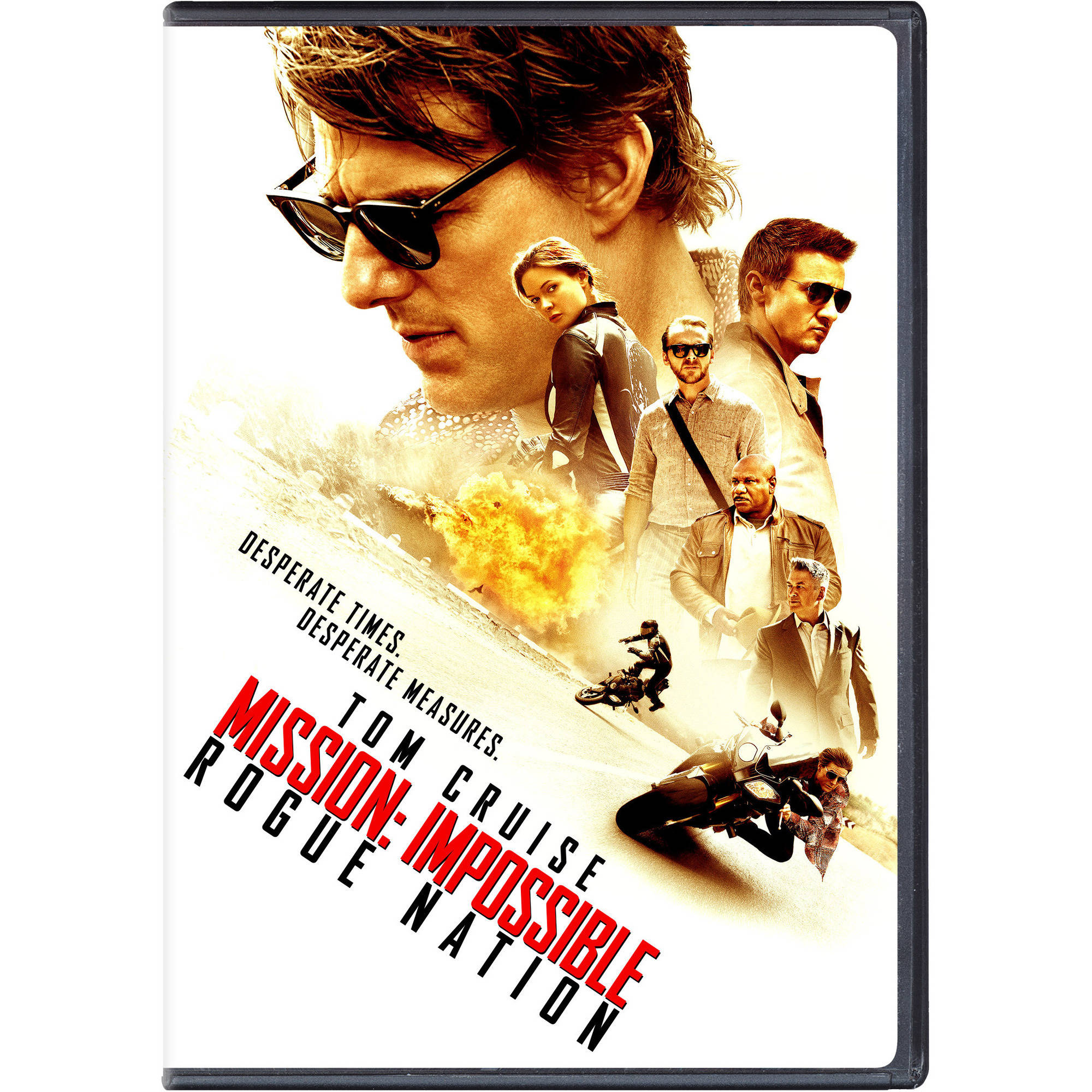 Mission: Impossible - Rogue Nation (DVD   Digital Copy) (With INSTAWATCH) (Walmart Exclusive))