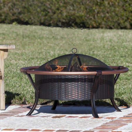 Fire Sense Copper Rail Fire Pit