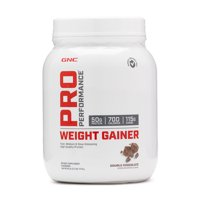 GNC Pro Performance Weight Gainer, Double Chocolate, 6 Servings