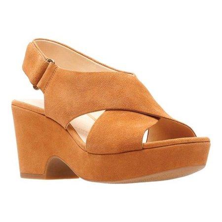 420a2a8cb10 Clarks - women s clarks maritsa lara platform sandal - Walmart.com