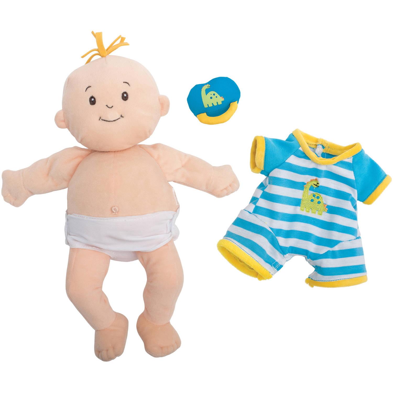 """Manhattan Toy Baby Stella Boy 15"""" Baby Doll Walmart"""