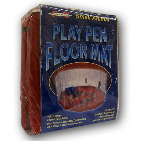 Marshall Small Animal Playpen Mat/Cover 11 (Marshall Ferret Playpen)