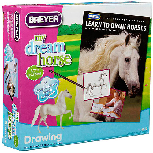 Breyer Horses Learn To Draw Horses Play Set
