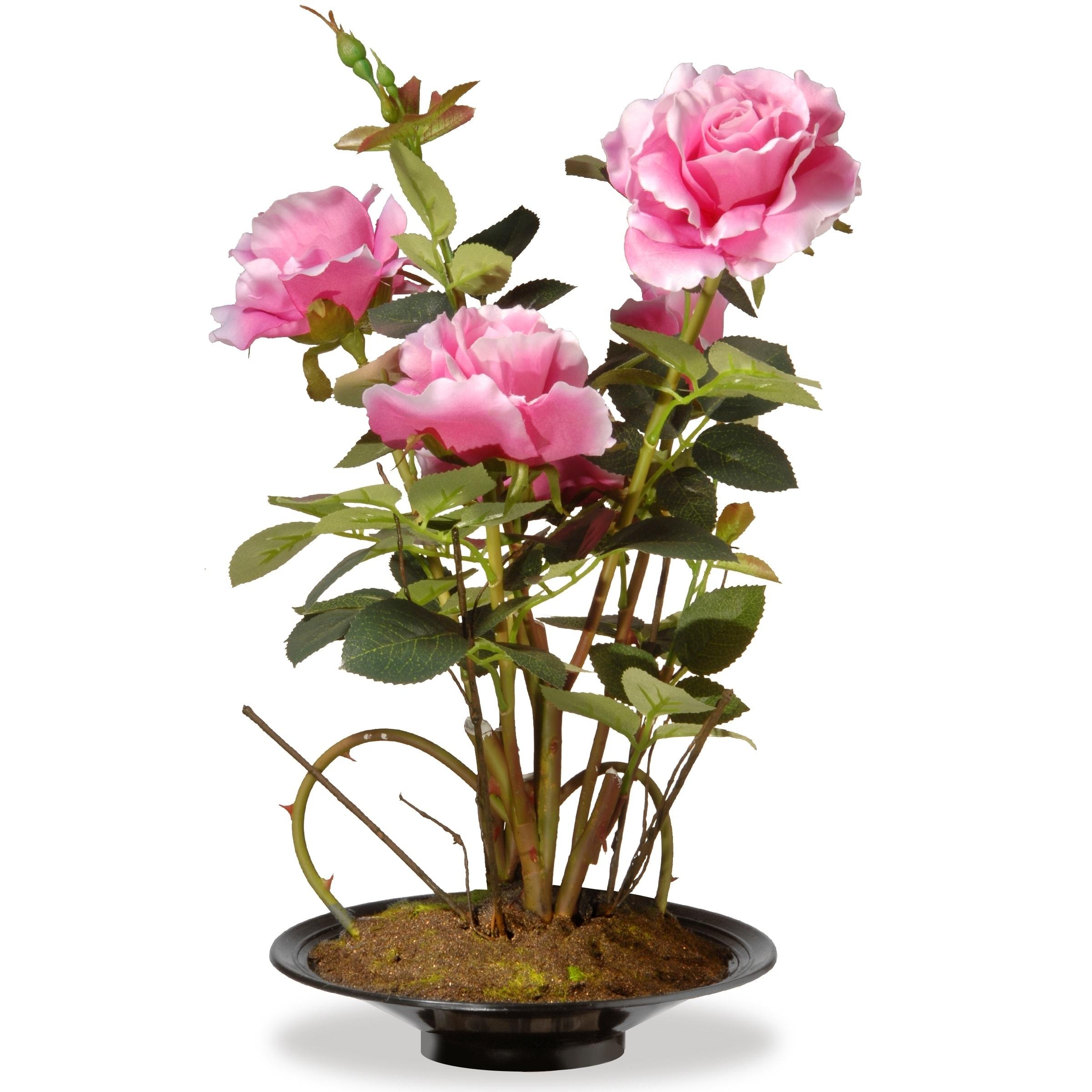 "16"" Pink Rose Flowers"