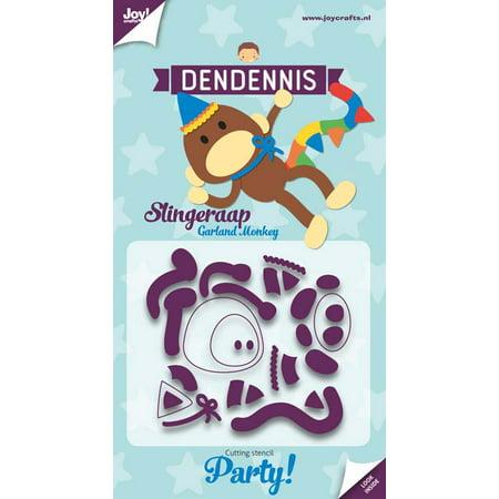 Joy! Craft Die - Dendennis Party- Garland Monkey