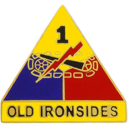 U.S. Army 1st Armored Division Pin 1