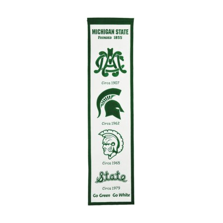Michigan State Spartans Gift Box (Winning Streak - NCAA Fan Favorite Banner, Michigan State Spartans)