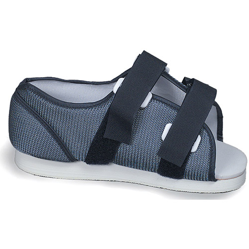 Men's Blue Mesh Post-Op Shoe, Large