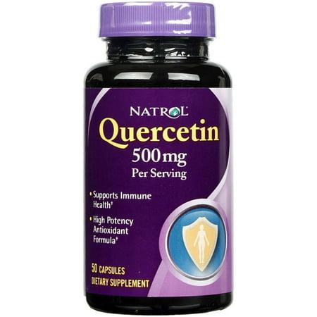 Natrol Green Tea 500 Mg Capsules (Natrol Quercetin, 500 mg, Capsules, 50 CT )