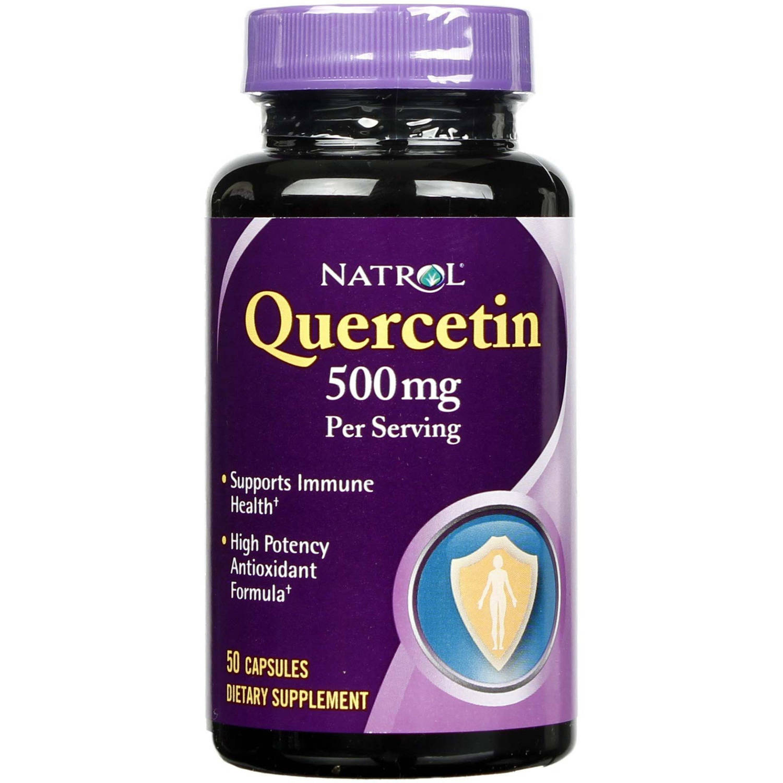 Natrol Quercetin, 500 mg, Capsules, 50 CT