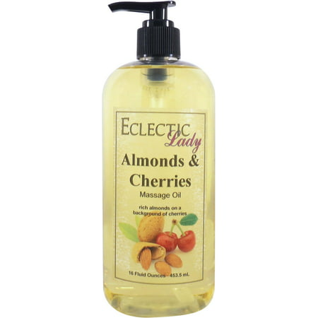 Almonds And Cherries Massage Oil, 16 (Almond Cologne)