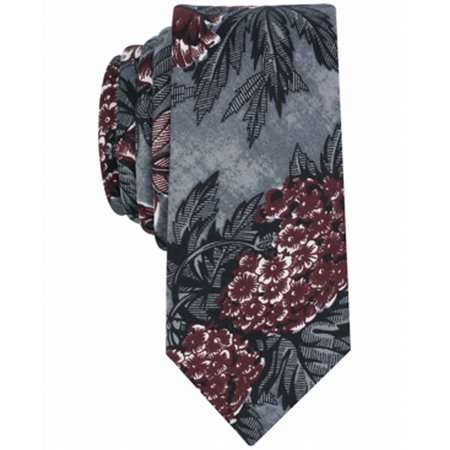 - bar III Mens Nesty Floral Self-tied Bow Tie red One Size
