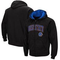 Boise State Broncos Colosseum Wordmark Arch & Team Logo Full-Zip Hoodie - Black