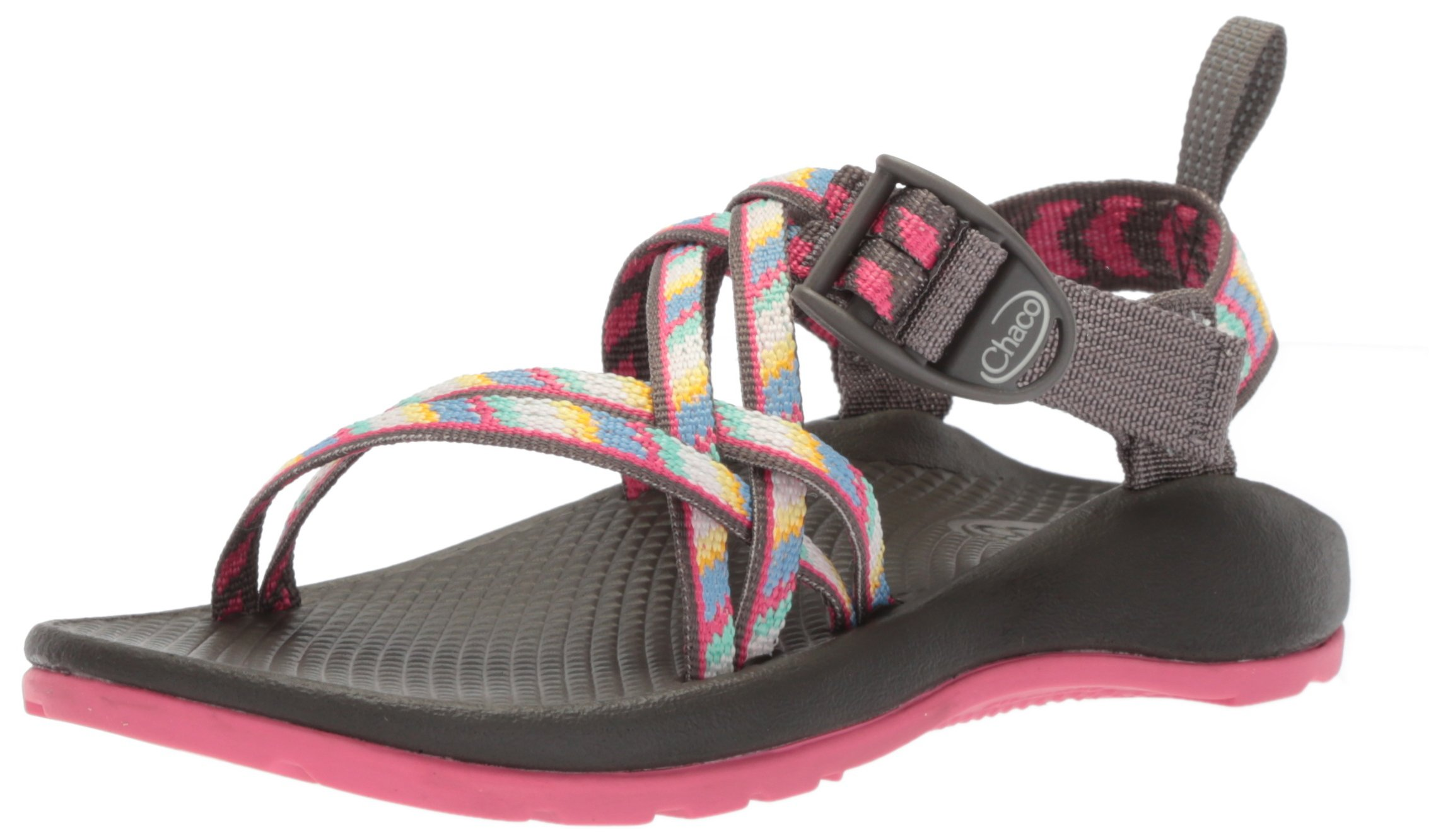 Chaco J180032: ZX1 Ecotread Little Kids Fletched Pink Sandal by Chaco