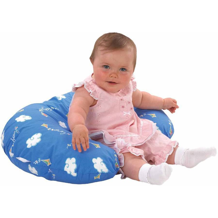 C Shaped Boppy Cushion, Patterns Vary