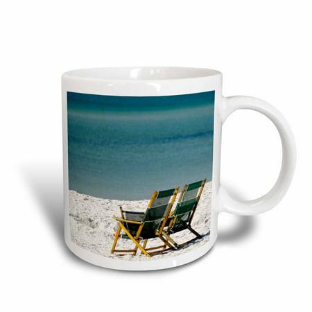 3dRose Adirondack Chairs, Fort Walton Beach, Florida - US10 FVI0018 - Franklin Viola, Ceramic Mug, 15-ounce