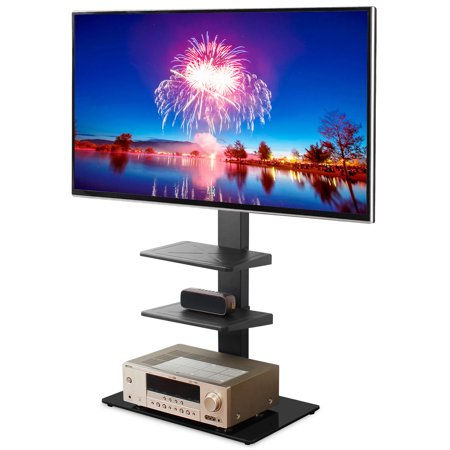 5Rcom 3-Shelf TV Stand with Mount for TVs up to 65