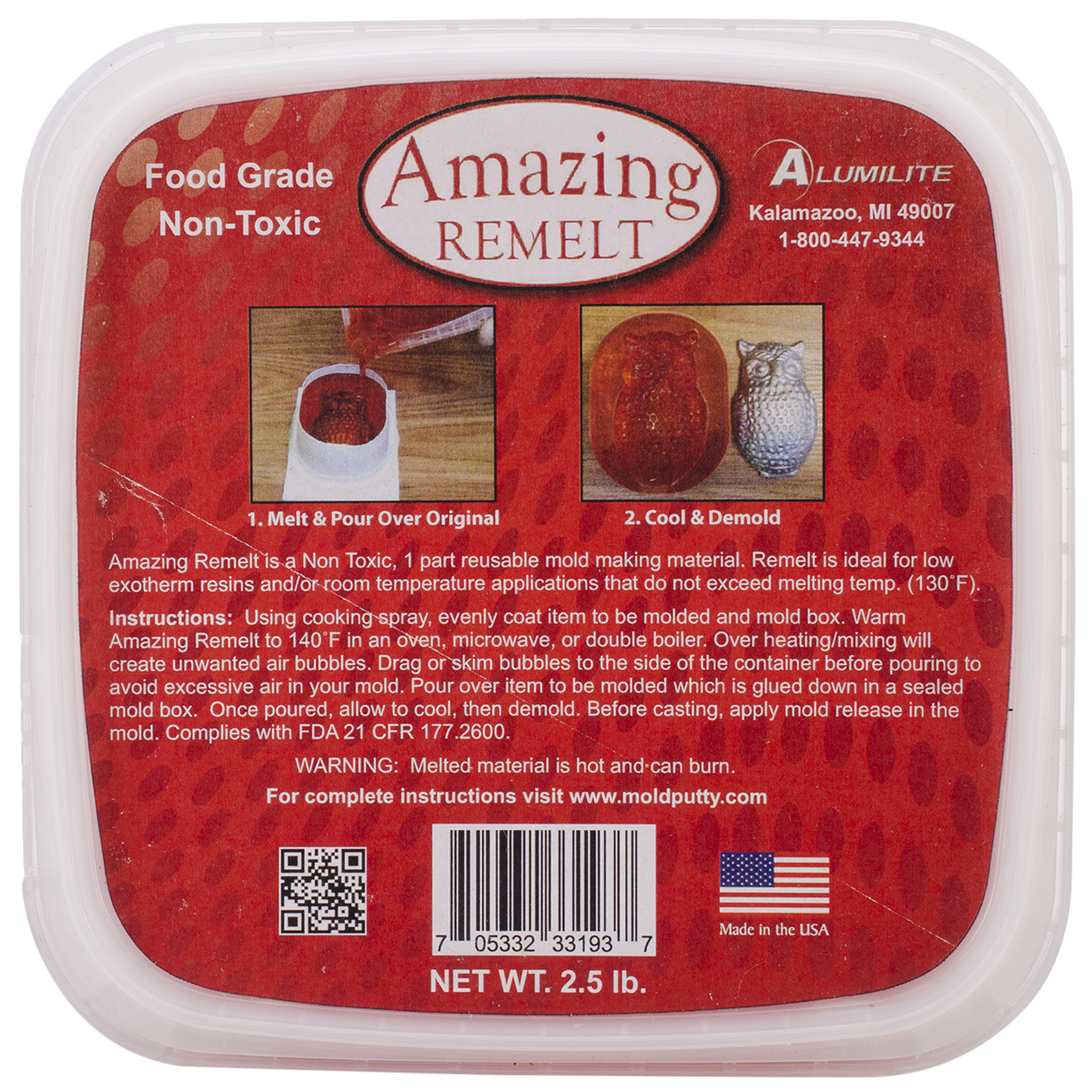 Amazing Remelt 2.5lb-Red