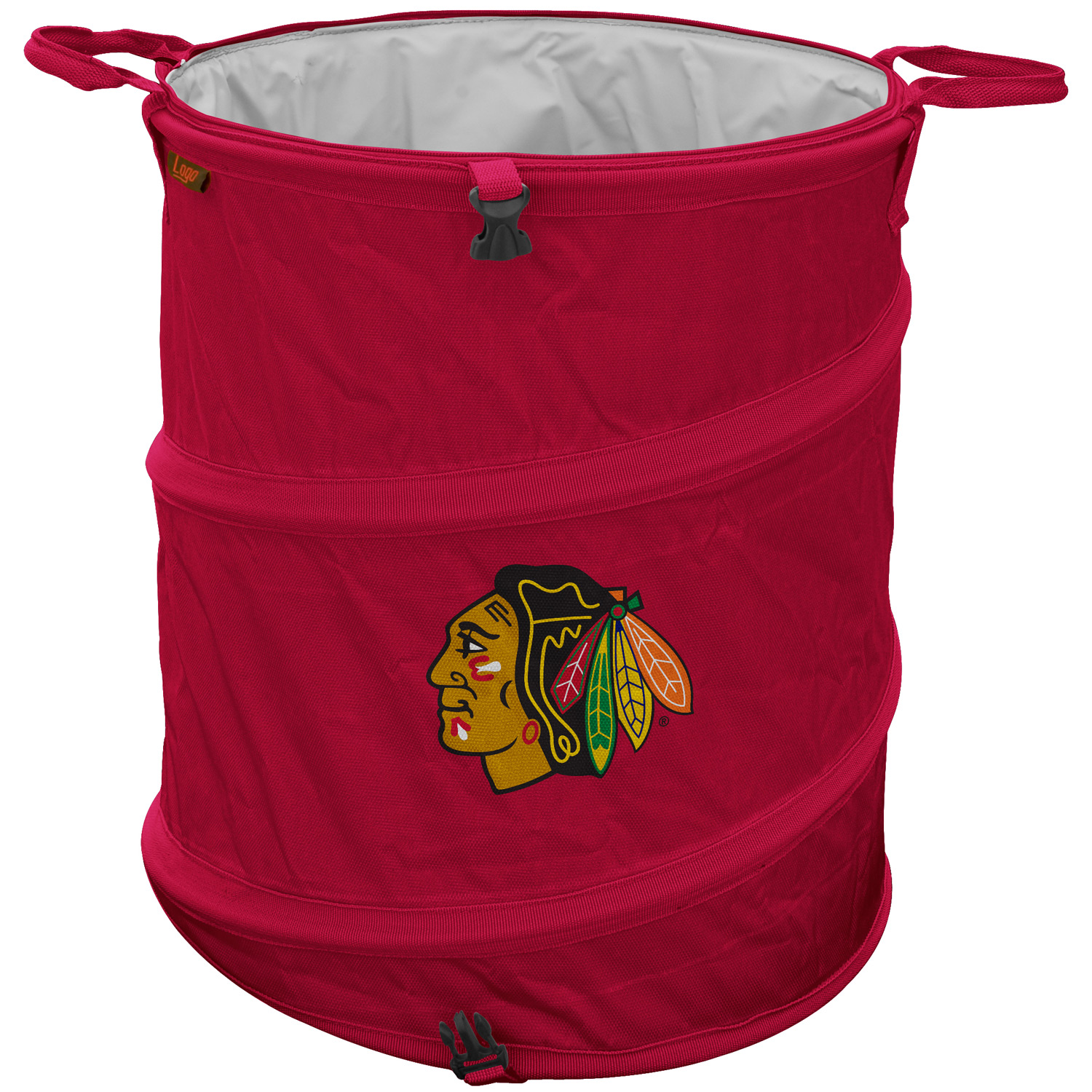 Logo Chair Chicago Blackhawks Collapsible 3-in-1 Cooler