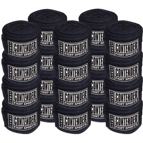 Ringside Kit-Item Contender Fight Sports Mexican Hand Wrap, 10pk
