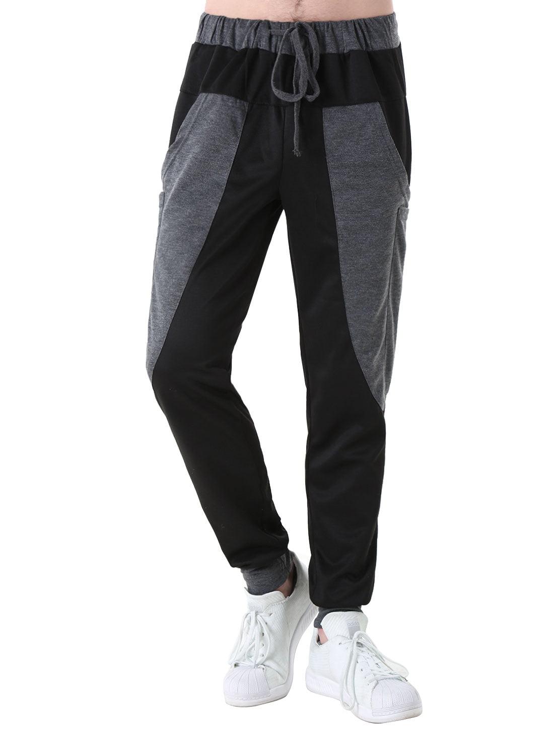 Big Hip Pockets Drawstring Trousers for Men