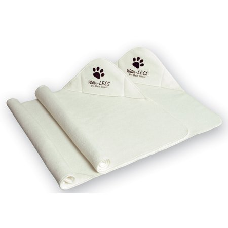 Water-Less Pet Towel- set of two 16x24 microfiber towels. Great for pets, cars, home and other uses.