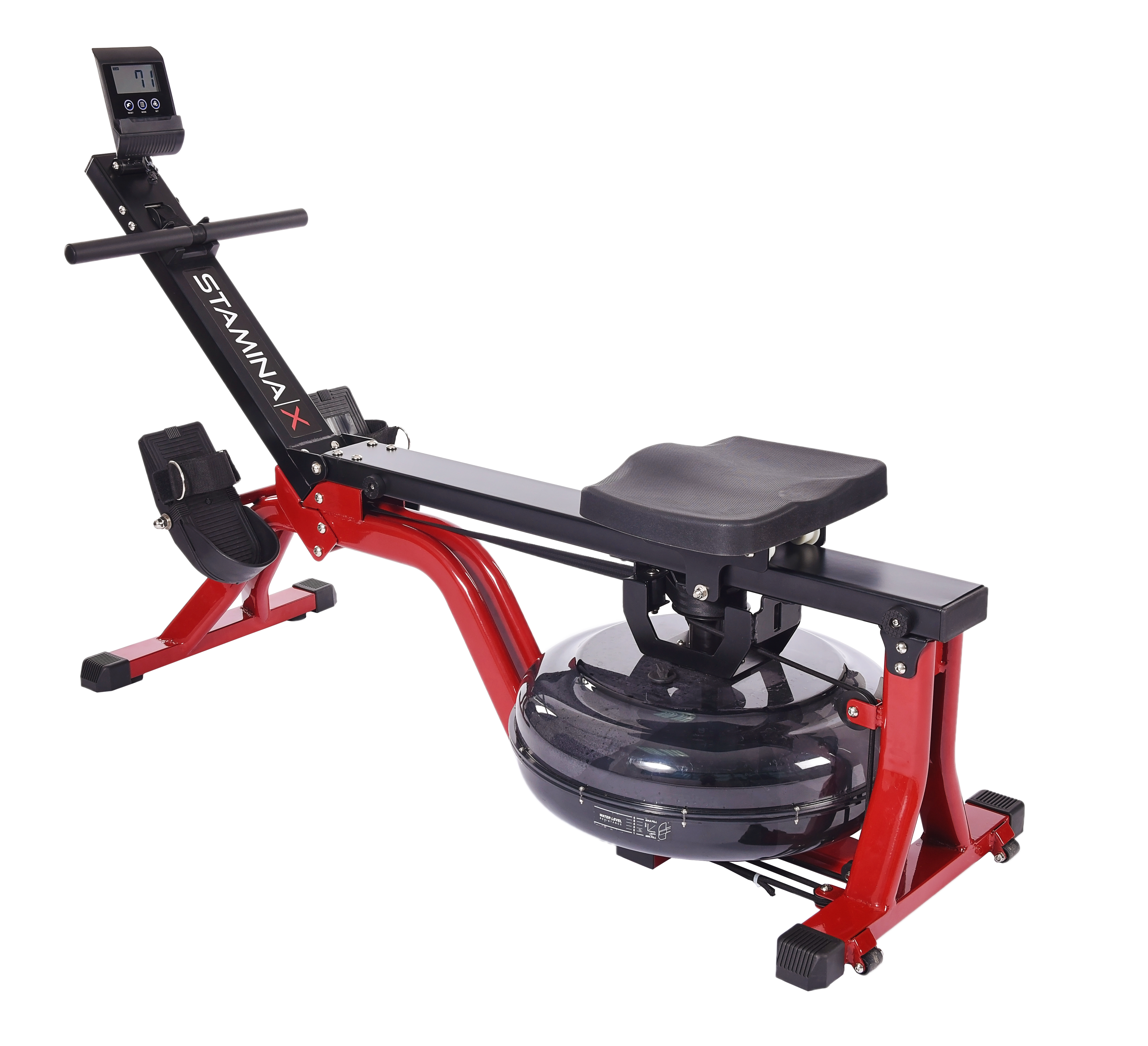 Stamina X Water Rower with Wireless Heart Rate Transmitter