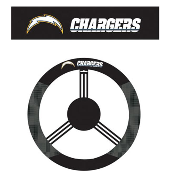 Fremont Die 98519 San Diego Chargers- Poly-Suede Steering Wheel Cover