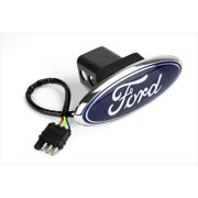 HIGHLAND 8606555 Trailer Hitch Cover, Ford
