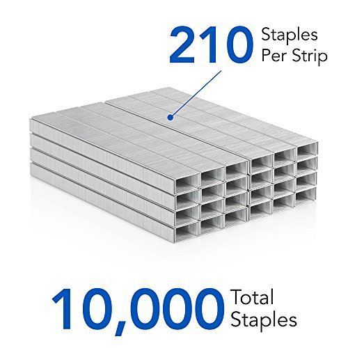 "1 Box 35108 5000//Box 210//Strip Swingline Staples 1//4/"" Length Standard"