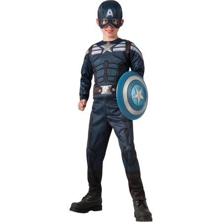 Captain America 2 2-In-1 Stealth/Retro Child Halloween Costume