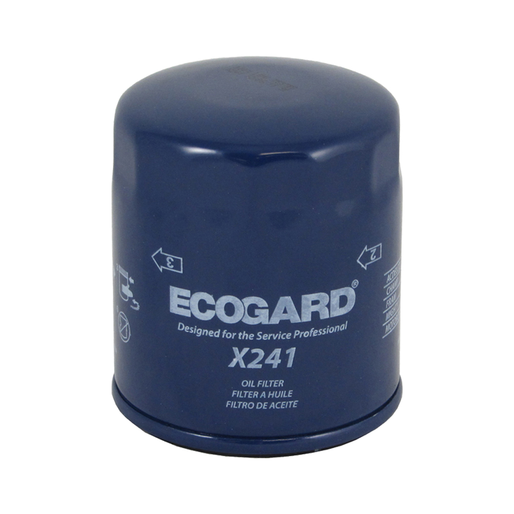 ECOGARD X241 Spin-On Engine Oil Filter for Conventional Oil - Premium  Replacement Fits Toyota Tacoma, 4Runner, Sienna, Tundra, Pickup, Camry,