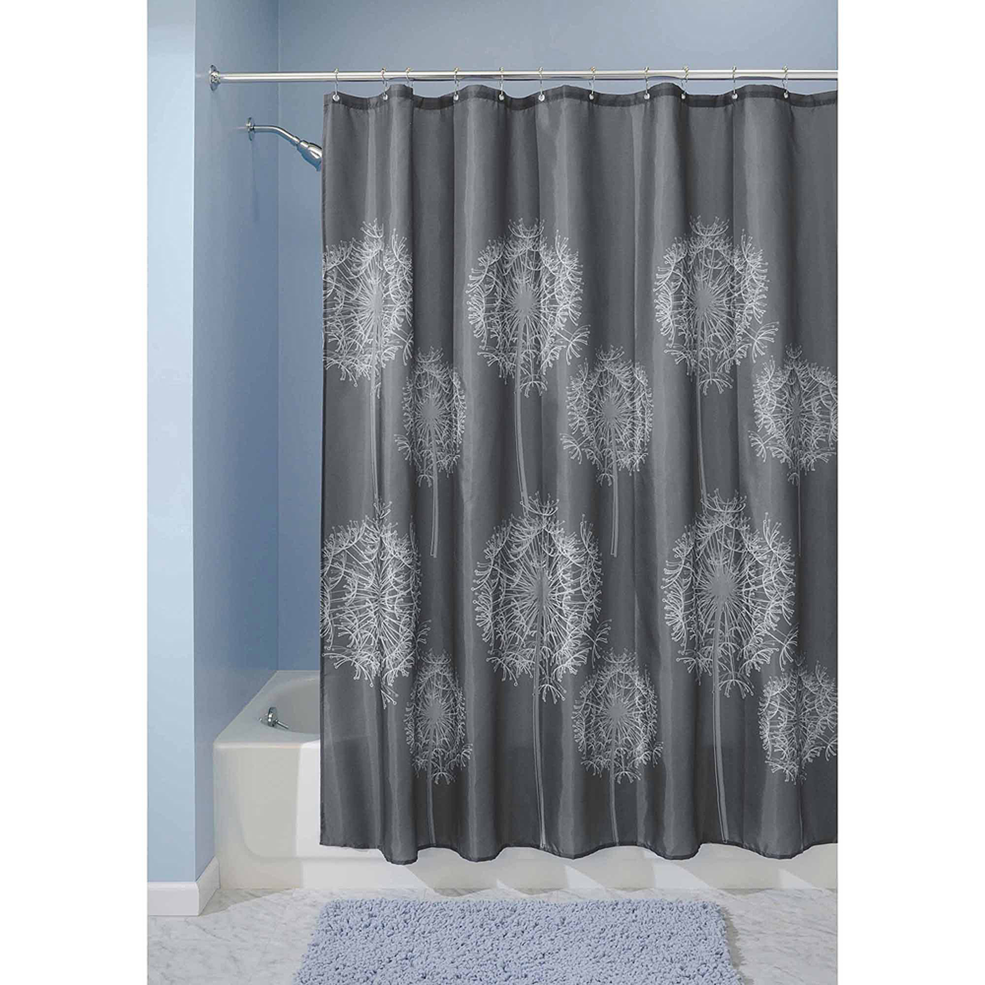 Brown And Gray Shower Curtain Bone Collector Pink And