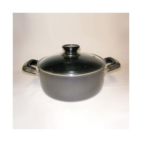 Danico Imperial 4-Quart  Stockpot with Glass Cover