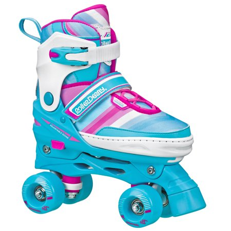 Roller Derby Girls Adjustable High Top Quad Skates by Roller Derby