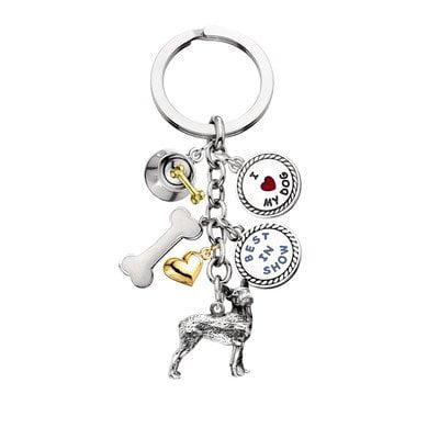 LittleGifts Boston Terrier V3 Keychain