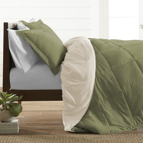 Ebern Designs Alan Ultra Soft Down Alternative 3 Piece Reversible Comforter Set